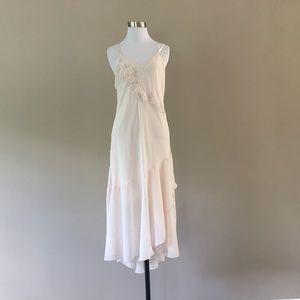 Chiffon Nightgown Slip Dress Lingerie Medium